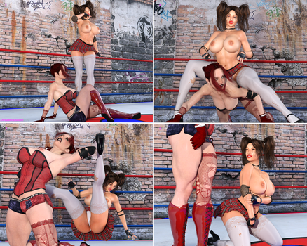Boxing Beauties : Braven Versus Mara 9 by DreamCandice