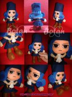 chibi Lluvia plush version by Momoiro-Botan