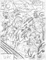 EMPOWERED: HELL BENT OR HEAVEN SENT cover rough #2 by AdamWarren