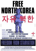 Free North Korea - Jae Park by mxmx