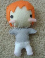 Taemin from SHINee plushie by Auby-chan