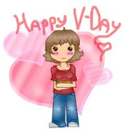 Happy V-Day from me~ by Nakario