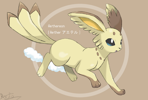 Fakemon: Aethereon by RocketHaruka