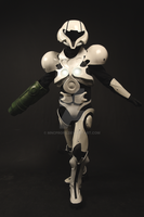 Metroid prime 2 Echo lightsuit by MncProps