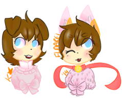 COM - 9catanddogs bust by qioqos