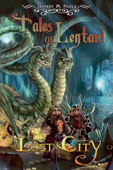 Tales of Lentari: Lost City Book Cover by UberVestigium