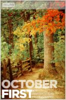 October First poster logo by chirilas