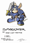Sparkster (Colour) by classicgamer76 by cobra10