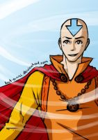 09. Aang by Kat-Anni