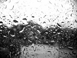Rain B and W by Tr0ubled-g0ldfish