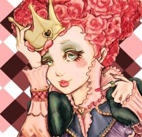 Red Queen - Alice in Wonderland by AbstractUnic