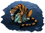 Jasmine and Rajah by ClaireLyxa