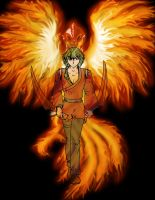 RE-Exalted games - The Phoenix by FireDragonRem
