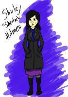 Sherlock is actually a girl's name by Punkheart11
