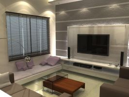 Living Room _ Mr. Tushar_2 by psd0503