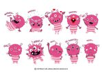 Pinky Monster by ud120182