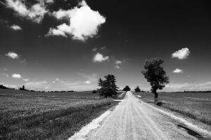 Road from our village by PavelFireman