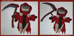 Specter Knight Plush by DonutTyphoon