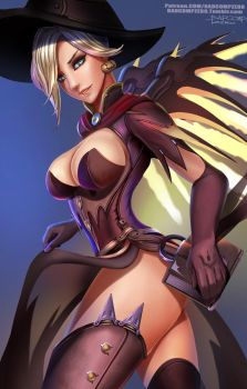 Mercy-witch Forpost by BADCOMPZERO