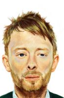 thom yorke by speckle