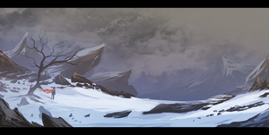 ::snow wasteland:: by sangheili117