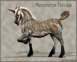 Badger Unicorn by Daio