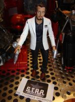 Custom Action Figure Dr. T.O. Morrow STAR Labs by skphile