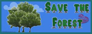 Save The Forest by Miha3lla