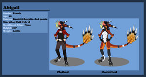 :Abigail: Reference Sheet 2013: by Vinabe