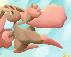 Bounce Lopunny by OsielG