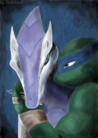 Request- Leo And Snake Karai. by ALStanford
