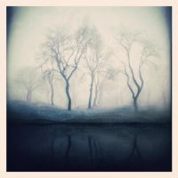 A Silver Blue Fog by intao