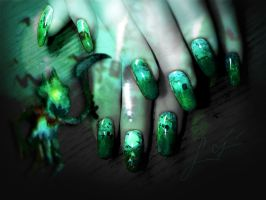 Fiddlesticks Nail Art by Undomiele