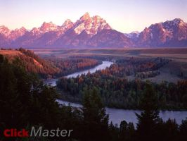 Grand Teton Mountain Range by ClickMaster9595
