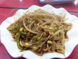 Glass Noodles with Sprout by Gexon