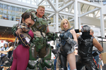 FireFall at Anime Expo by MissSinisterCosplay