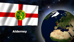 Flag Wallpaper - Alderney by darellnonis