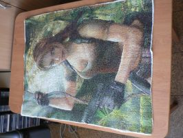 Tomb Raider: Legend - Cross Stitch by rose6119