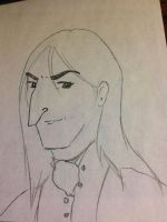 Snape Doodle 343 by dragoon811