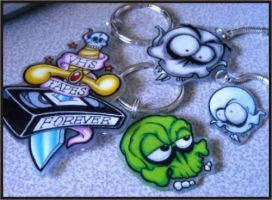 Collection of Shrinky Dinks by Vectorcrazy