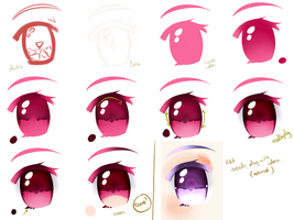 Sai: Magical girls eyes by Kirimimi