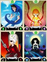 Spectrum of the Sky. Homestuck Tarot Set by Teise