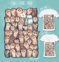 Owls and owls and owls by PeterPan-Syndrome