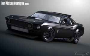69 Mustang Interceptor by RKGrafixx