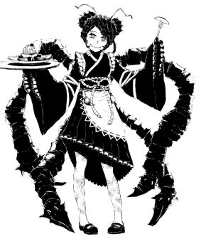 Entoma, the maid of the Great Tomb of Nazarick by smilecat2501