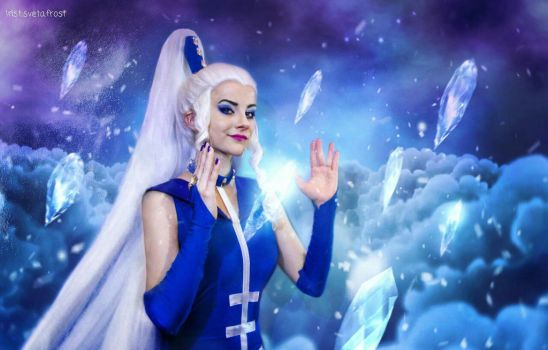 Icy winx cosplay by SvetaFrost