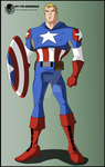 Kiriban - Marvel Captain America by The-GreenGoblin