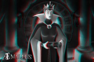 Wicked Queen (anaglyph) by aemiliuslives