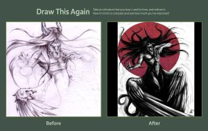 Draw it again contest-get over yourself monster by Skizoh