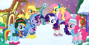 My little pony winter fashion by unicornsmile